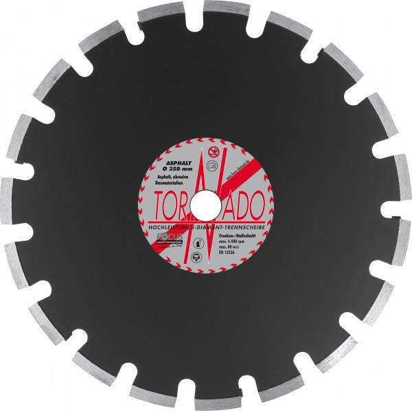 Tornado Asphalt Diamant Trennscheibe Ø 450 mm