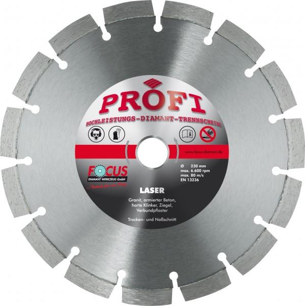 Profi Laser Diamant Trennscheibe Ø 230 mm