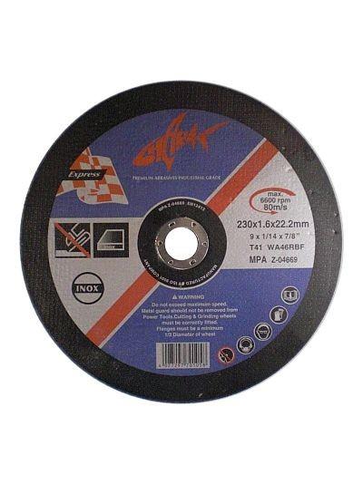 INOX Trennscheiben Ø 230 mm