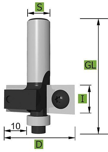 WPL Falzfräser Ø 30,0 mm