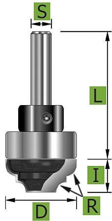 Profilfräser Ø22 mm