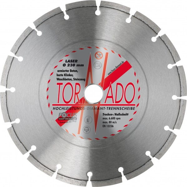 Tornado Laser Diamant Trennscheibe Ø 230 mm