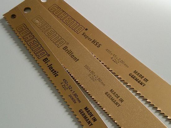 550x38x1,90 mm Bi-Metall Maschinensägeblätter