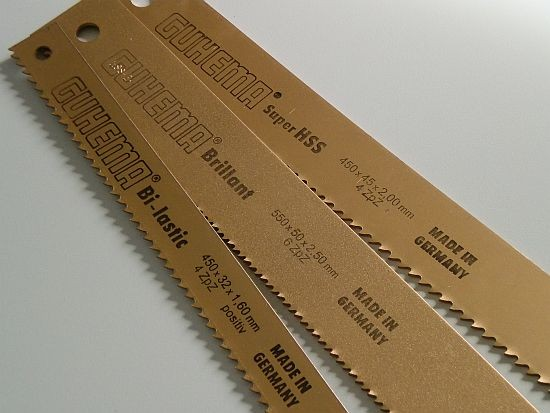 650x55x2,50 mm Maschinensägeblätter DMo5 Kasto