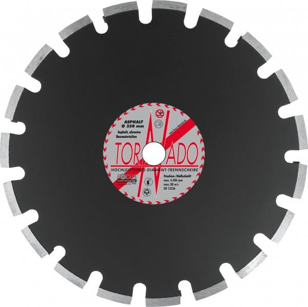 Tornado Asphalt Diamant Trennscheibe Ø 350 mm