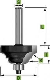 Römischer Classic Profilfräser D 31,8 mm Schaft 8 mm