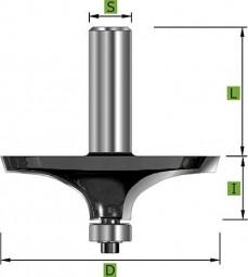 Edessö Formfräser Form 'A' Ø63,5 mm