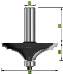 Edessö Formfräser Form 'B' Ø63,5 mm