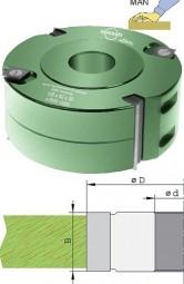 Wendeplatten Falzmesserkopf Ø100 mm