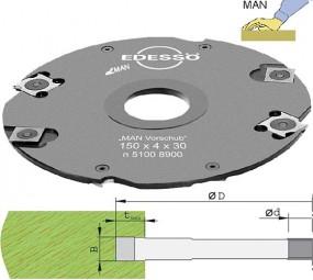 Wendeplatten Nutfräser Ø150 mm