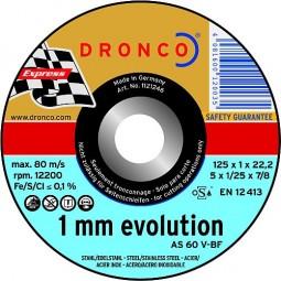 Edelstahl Trennscheibe 'Evolution' Ø 125 mm