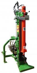 Thor Holzspalter Super Magik 18 Tonnen mit Kombiantrieb
