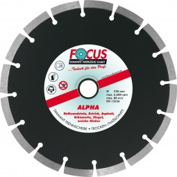 Master Alpha Diamant-Trennscheibe Ø 150 mm