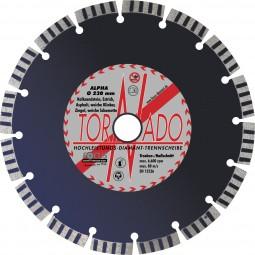 Tornado Alpha Diamant-Trennscheibe D=230 mm